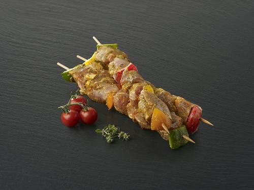 "Brochette de porc marinée ""Garrigue"""