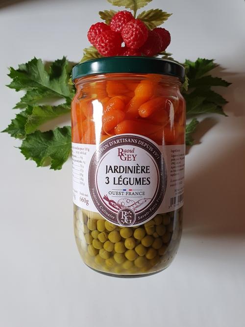 Jardinière 3 légumes